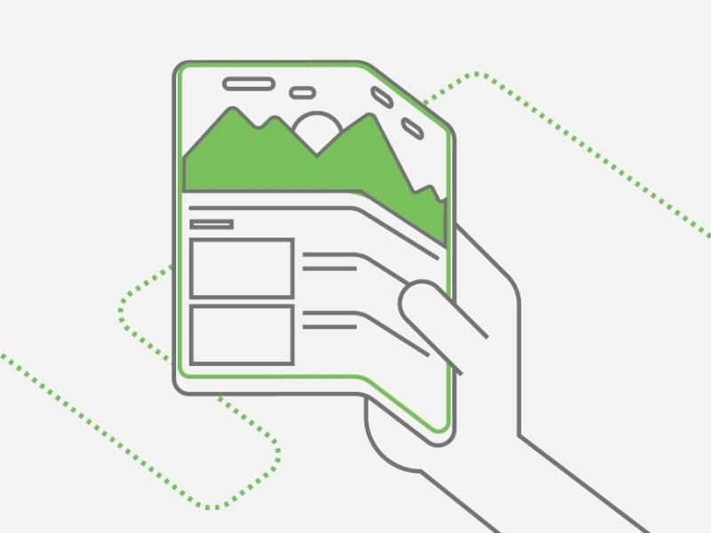 Falt Fold Android Header
