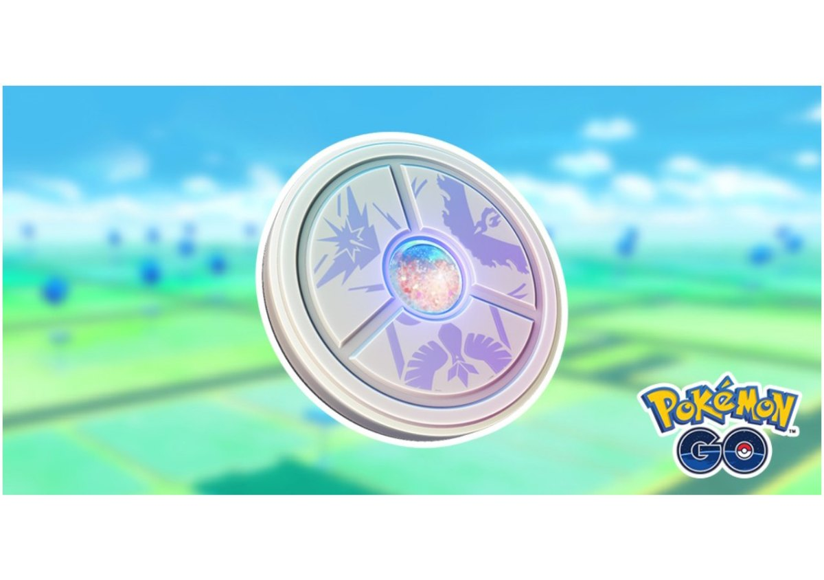 Pokemon GO Medaille