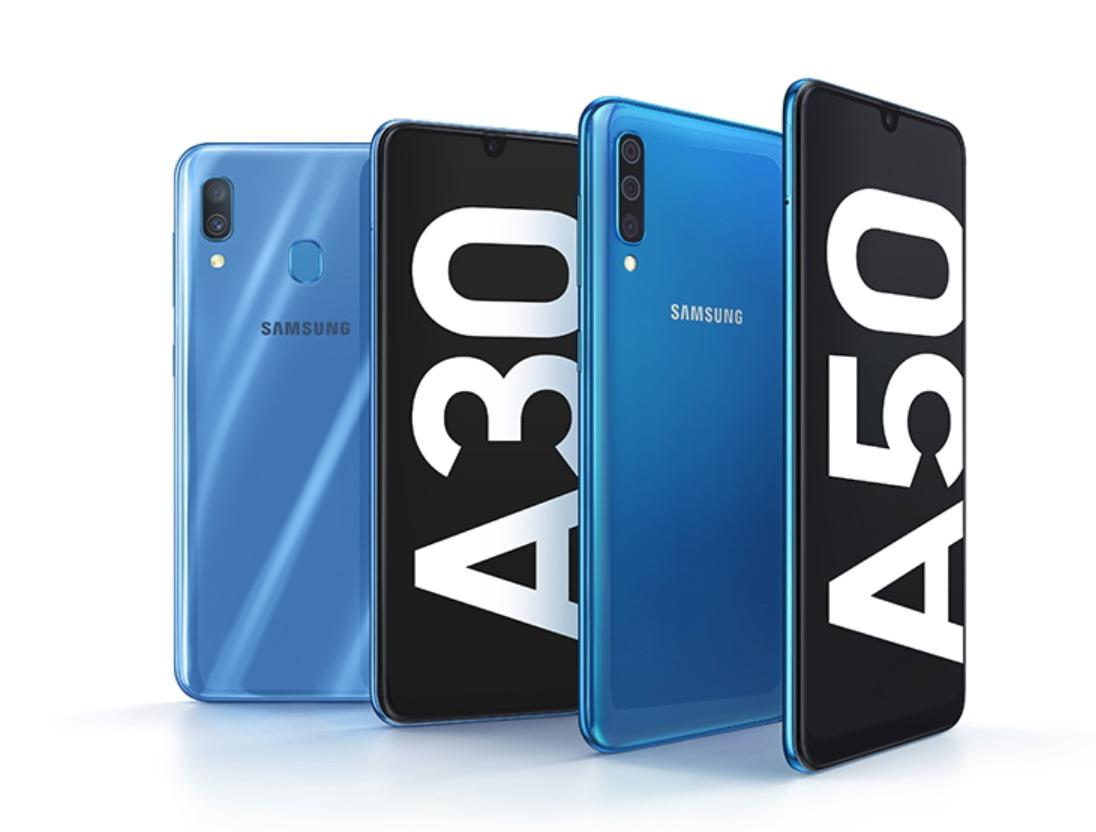 Samsung Galaxy A30 und A50 Header