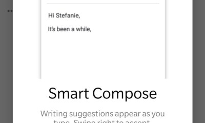 Smart Compose Gmail Header