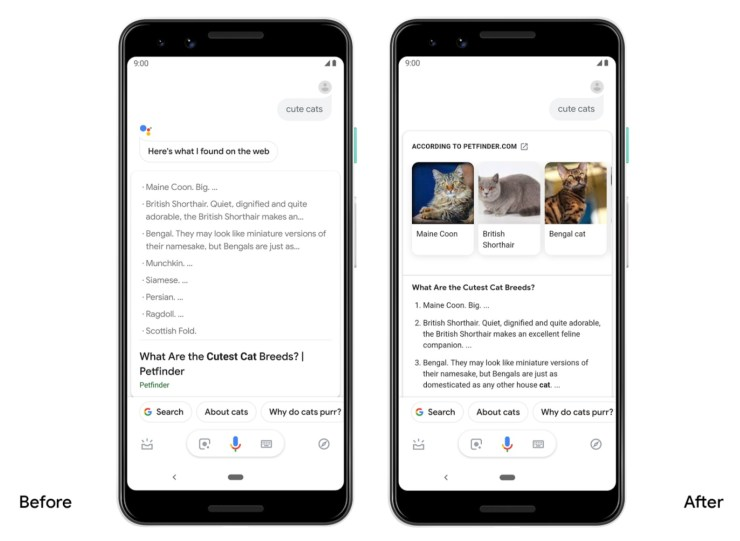 Google Assistant Update April 2019