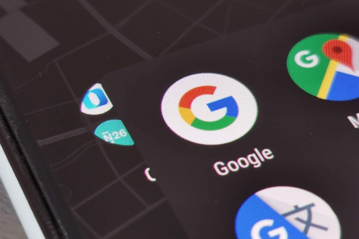 Google App Logo Header