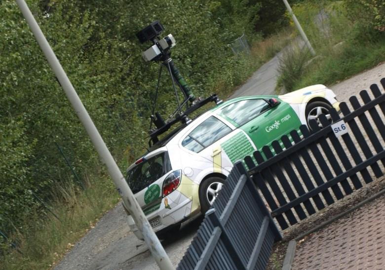 Google Maps Street View Auto