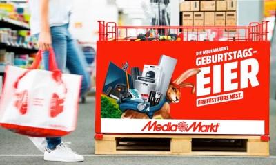 MediaMarkt Geburtstagseier