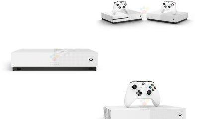Xbox One S All Digital Leak