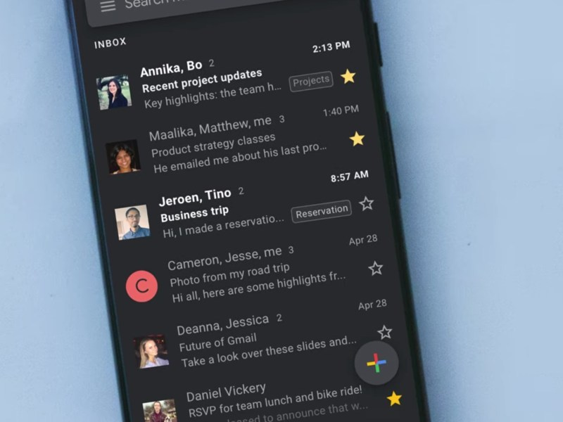 Android Q Dark Mode Nachtmodus