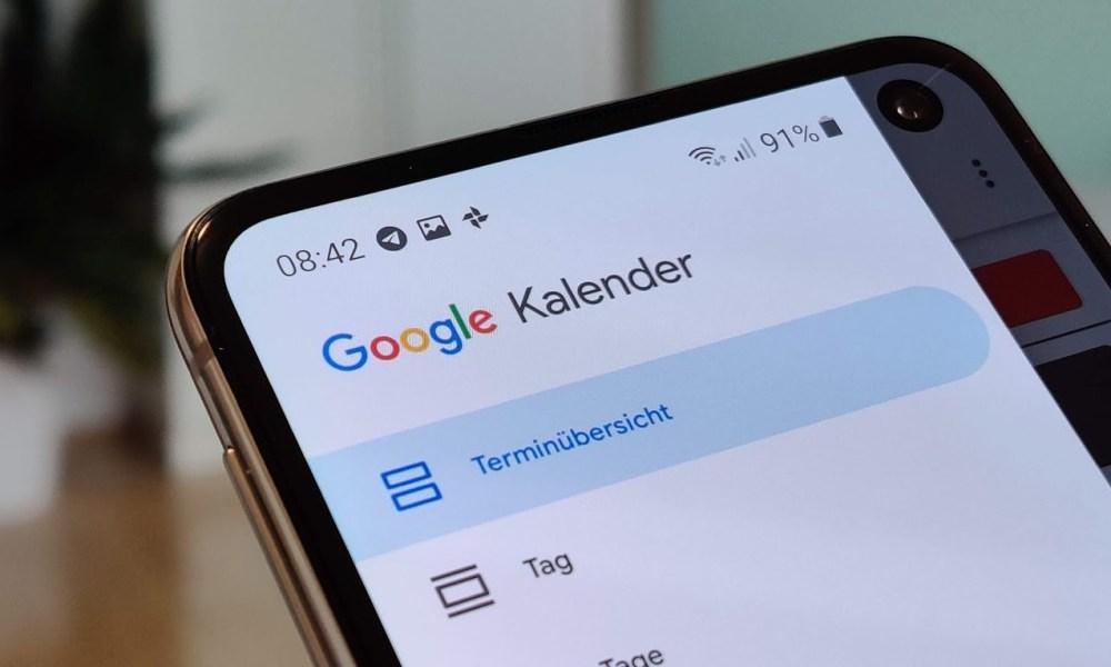 Google Kalender: Aufgaben bald in Android-App integriert