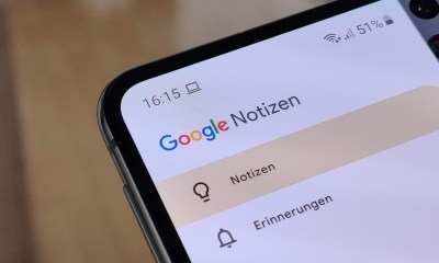 Google Notizen Header