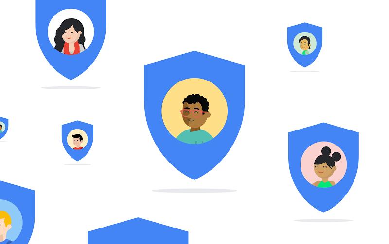 Google Privatsphäre Sicherheit Header