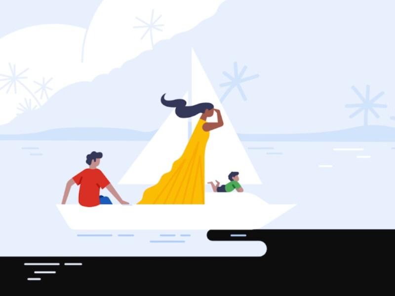 Google Urlaub Reise Trips Header
