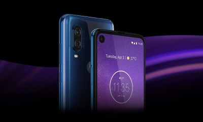 Motorola One Vision Header
