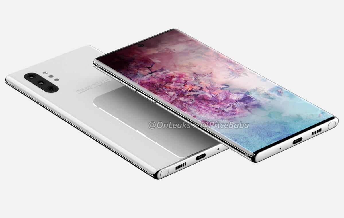 Samsung GAlaxy Note 10 Pro Leak