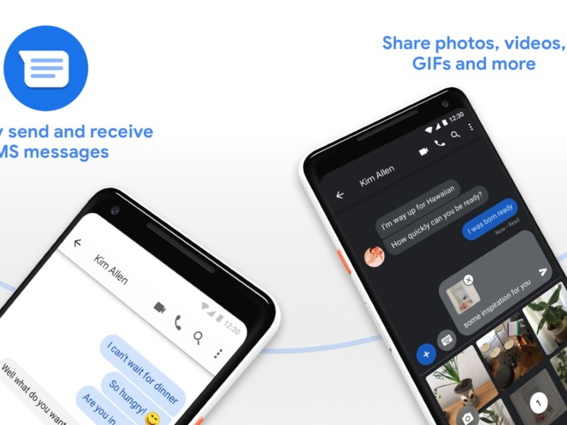 Android Messages Header