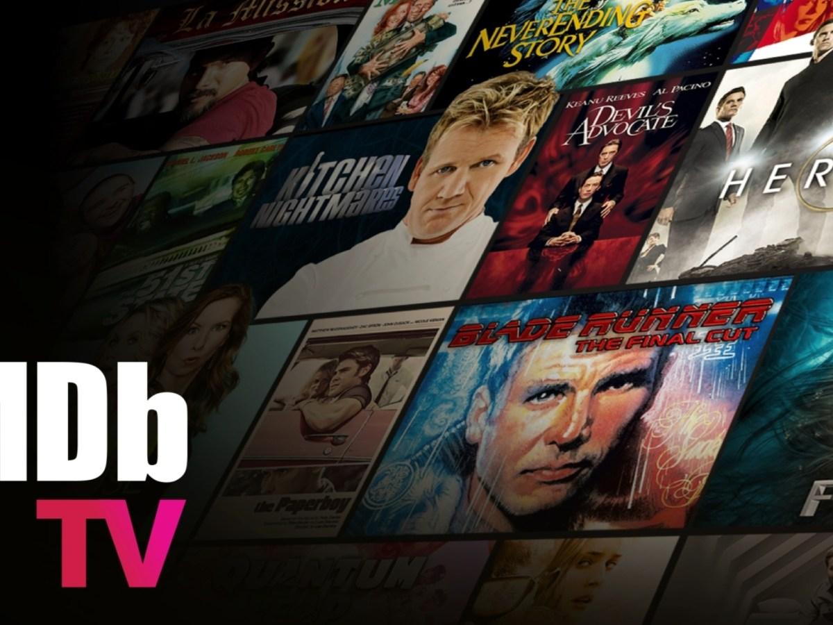 IMDb TV Header