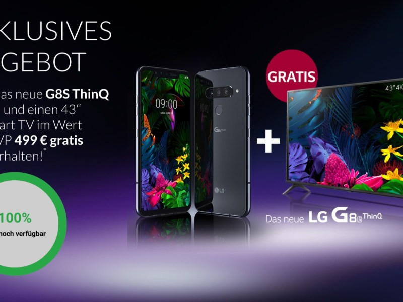 LG G8S TV Aktion Juni 2019