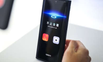 Oppo Under Screen Camera Prototyp