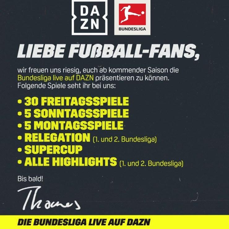 DAZN Bundesliga Teaser