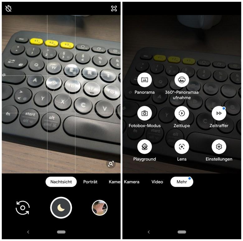 Google Kamera Nachtmodus 6.3