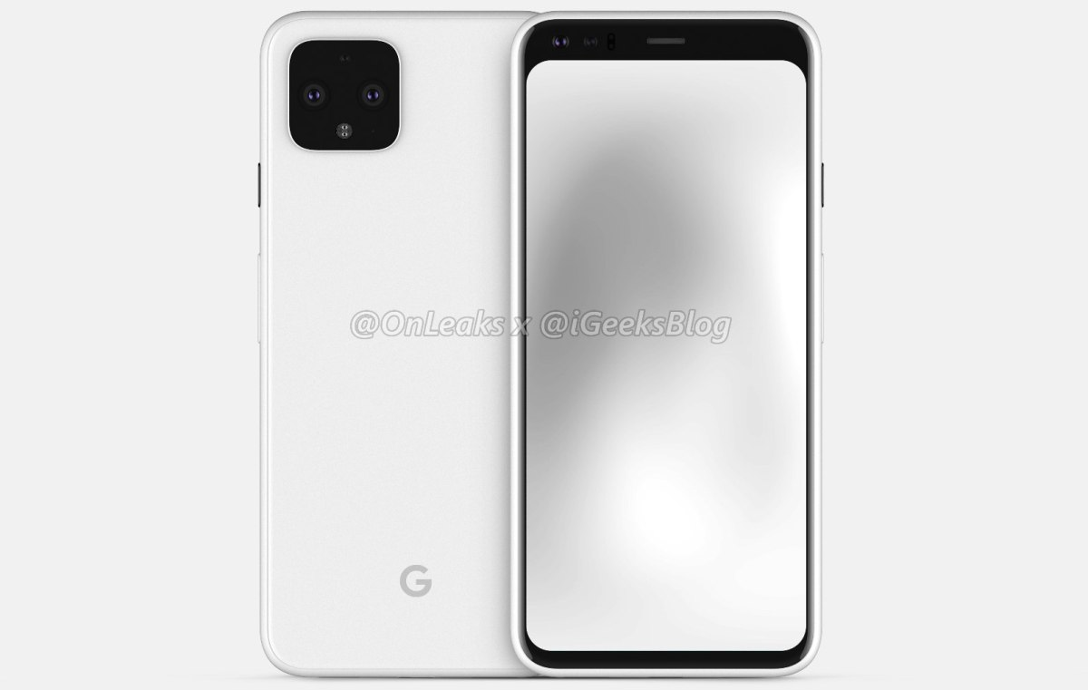 Google Pixel 4 Leak