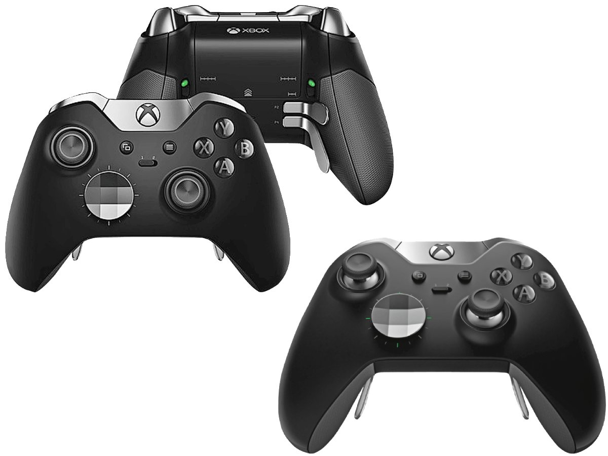 Xbox One X Elite Controller Header