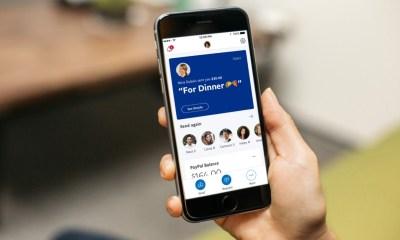 Paypal App Header