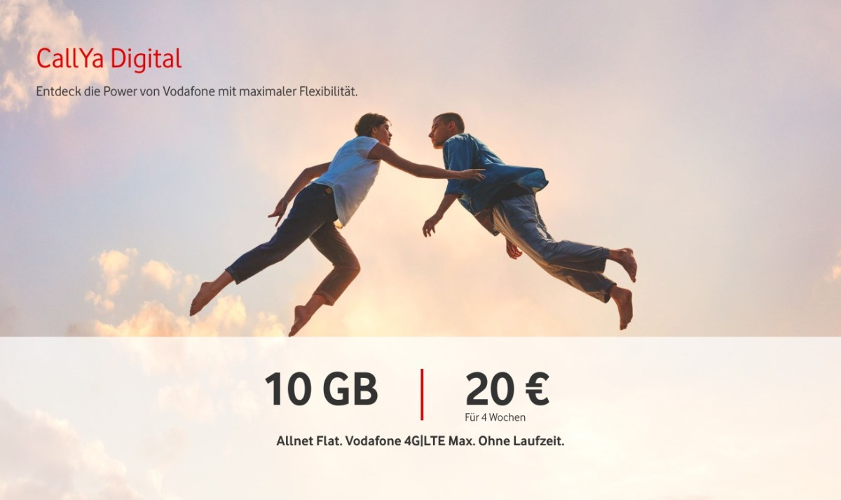 Vodafone Callya Digital Header