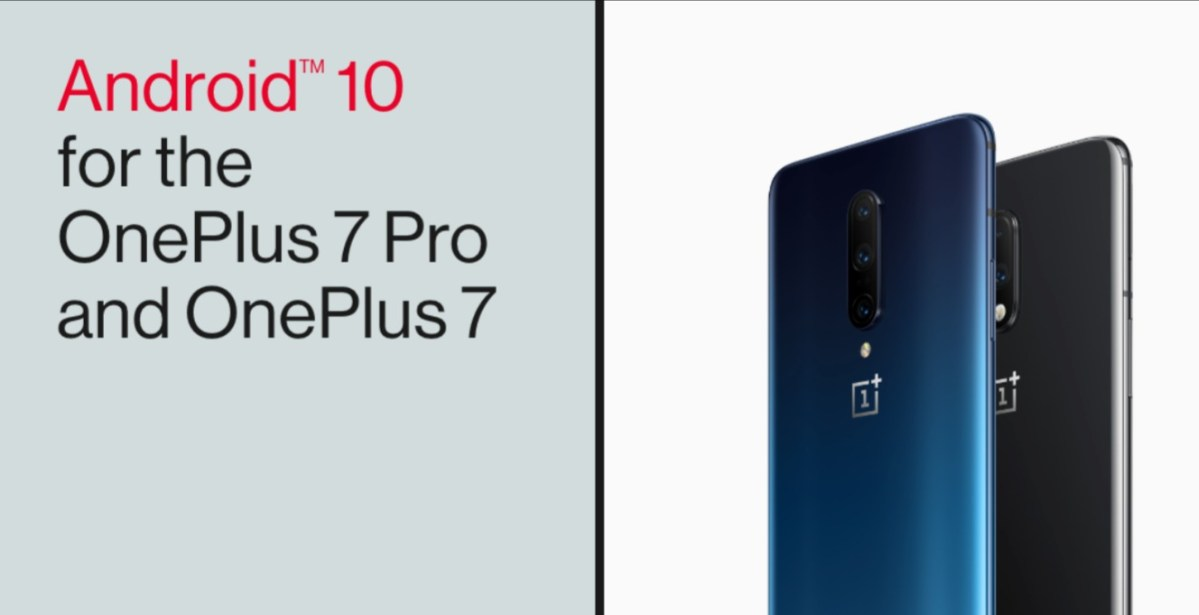 Android 10 OnePlus 7