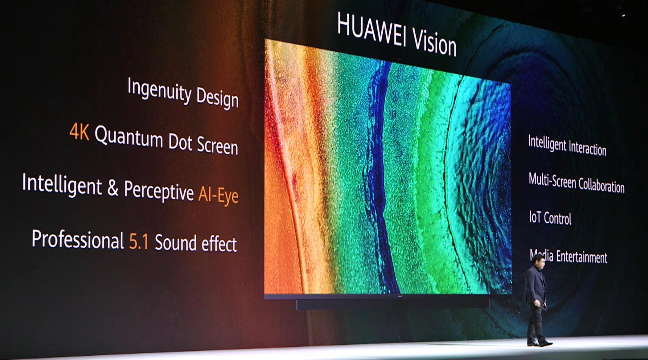 Huawei Vision: Intelligenter Fernseher kurz vorgestellt