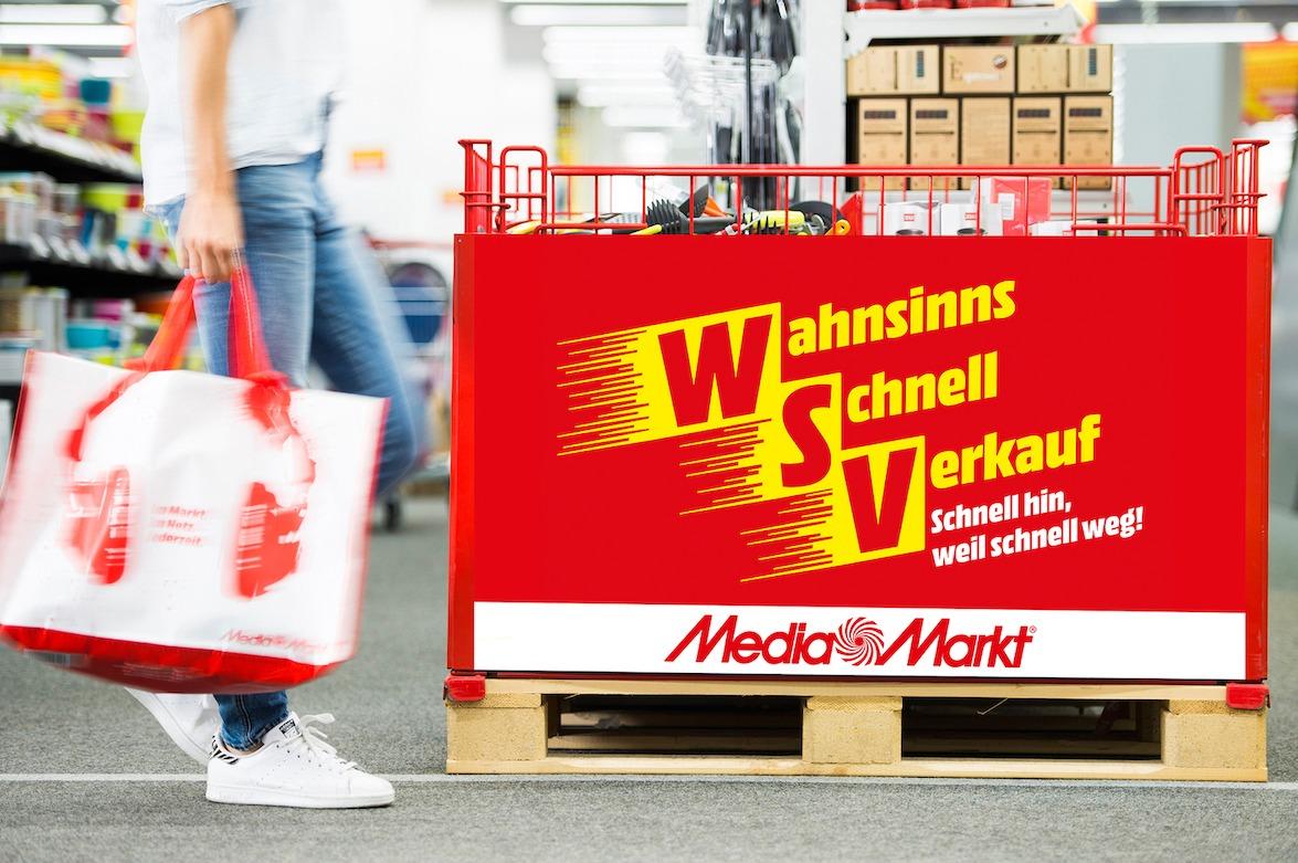 Aktion: MediaMarkt startet Wahnsinns-Schnell-Verkauf Wochenend-Wahnsinn