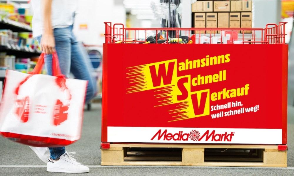 MediaMarkt Wahnsinns-Schnell-Verkauf