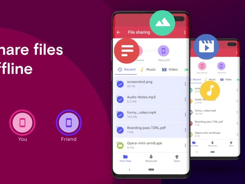 Opera Mini File Sharing Offline