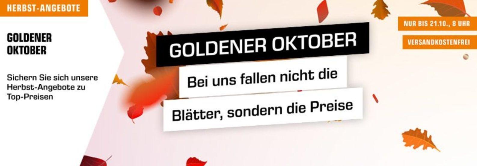 """Saturn startet """"Goldener Oktober""""-Aktion mit zahlreichen Rabatten"""