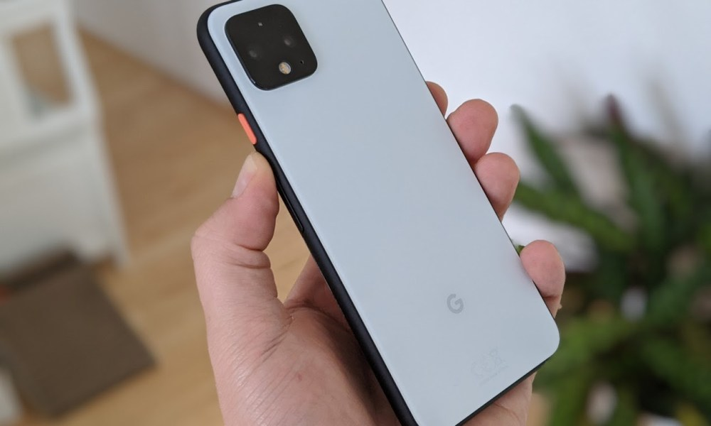Google Pixel 4 Rückseite