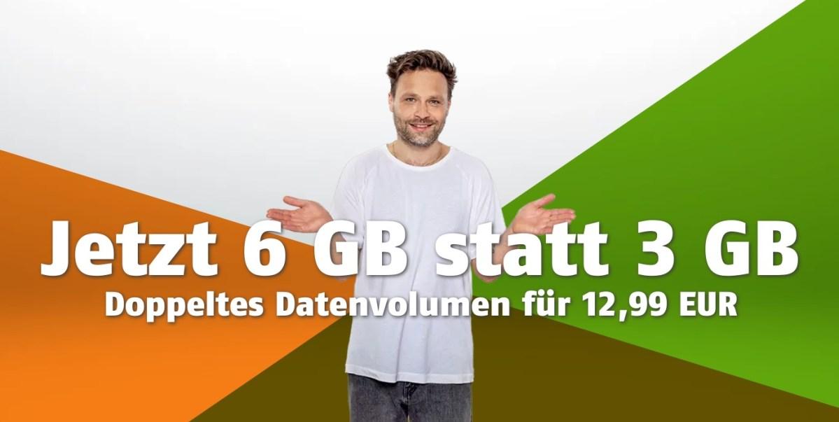Klarmobil Aktion 6 statt 3 GB