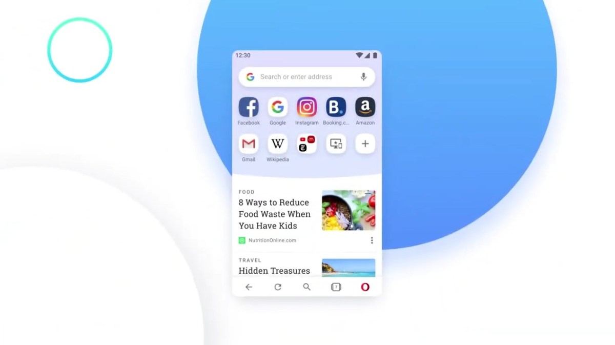 Opera Android Header