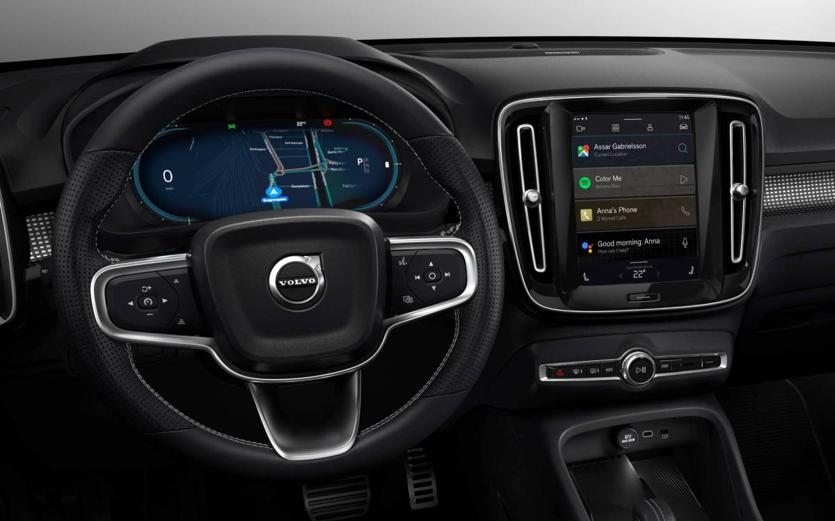 Volvo XC40 Android Automotive