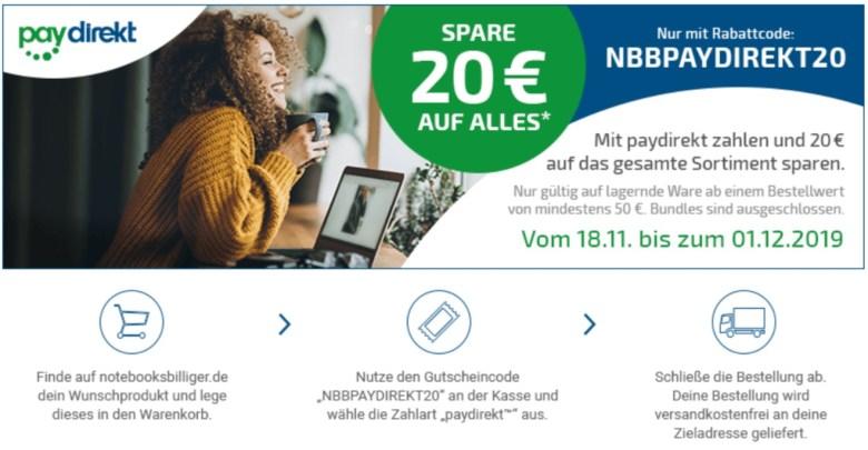 Paydirekt NBB Aktion