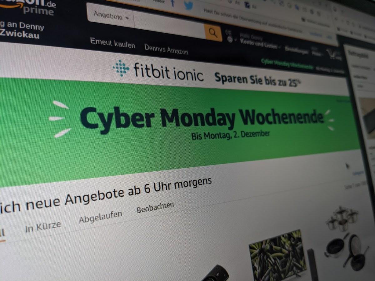 Amazon Cyber Monday 2019