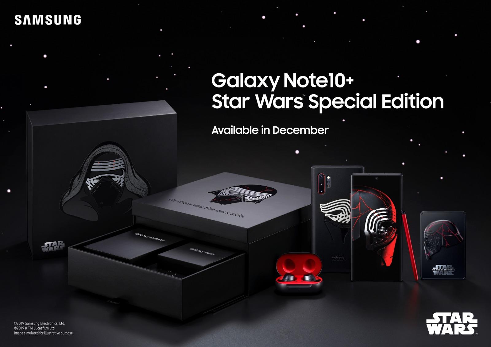 Samsung kündigt sein Star Wars-Smartphone auch für Deutschland an