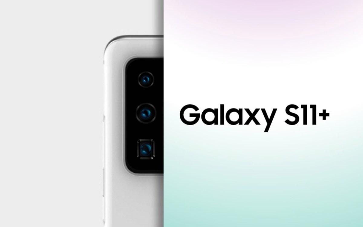 Samsung Galaxy S11 Plus Kamera Leak