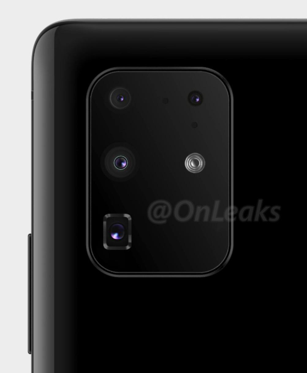 Samsung Galaxy S11+ Kamera Setup Leak