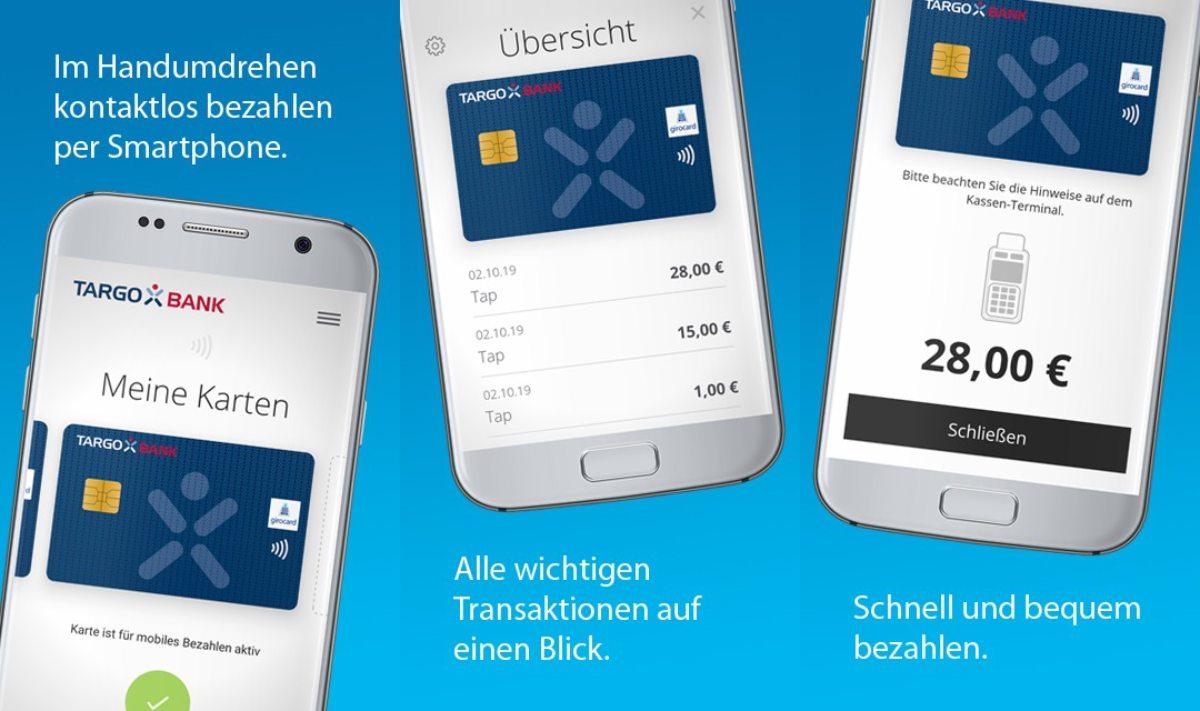 Targobank Bezahl-App Android