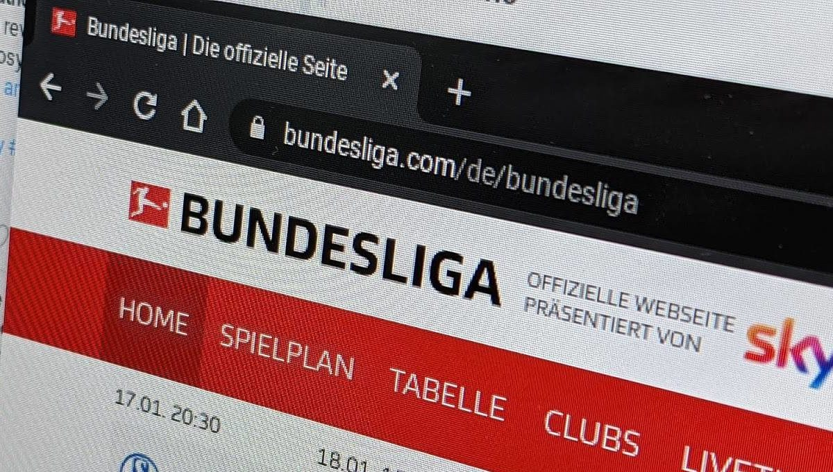 Bundesliga Homepage Header