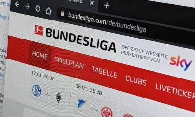 Bundesliga Homepage Header