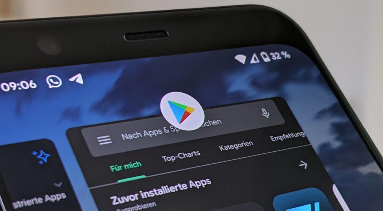 Google Play Store: Nächster Umbau für Android-App ist da und das Hauptmenü weg