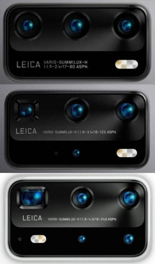 Huawei P40 Kameras Leaks