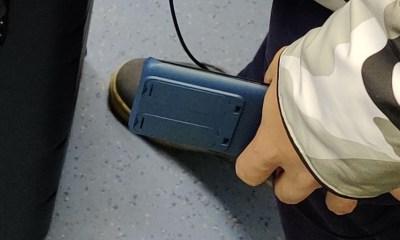 Huawei P40 Leak Ubahn hinten
