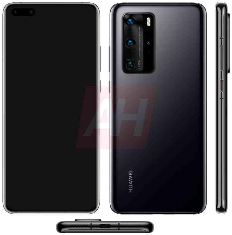 Huawei P40 Pro 4 Kameras Leak