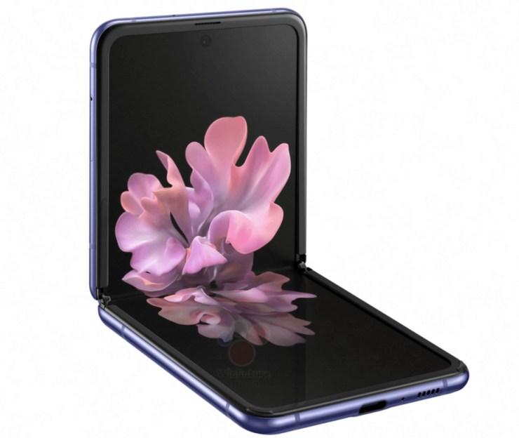Samsung Galaxy Z Flip Leak1