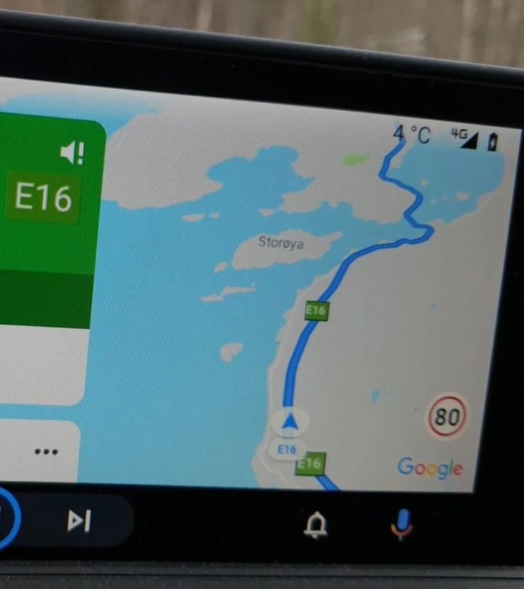 Android Auto Erlaubte Geschwindigkeit